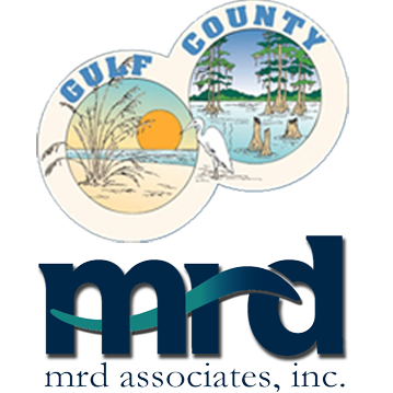 Gulf County and MRD Associates LOGO