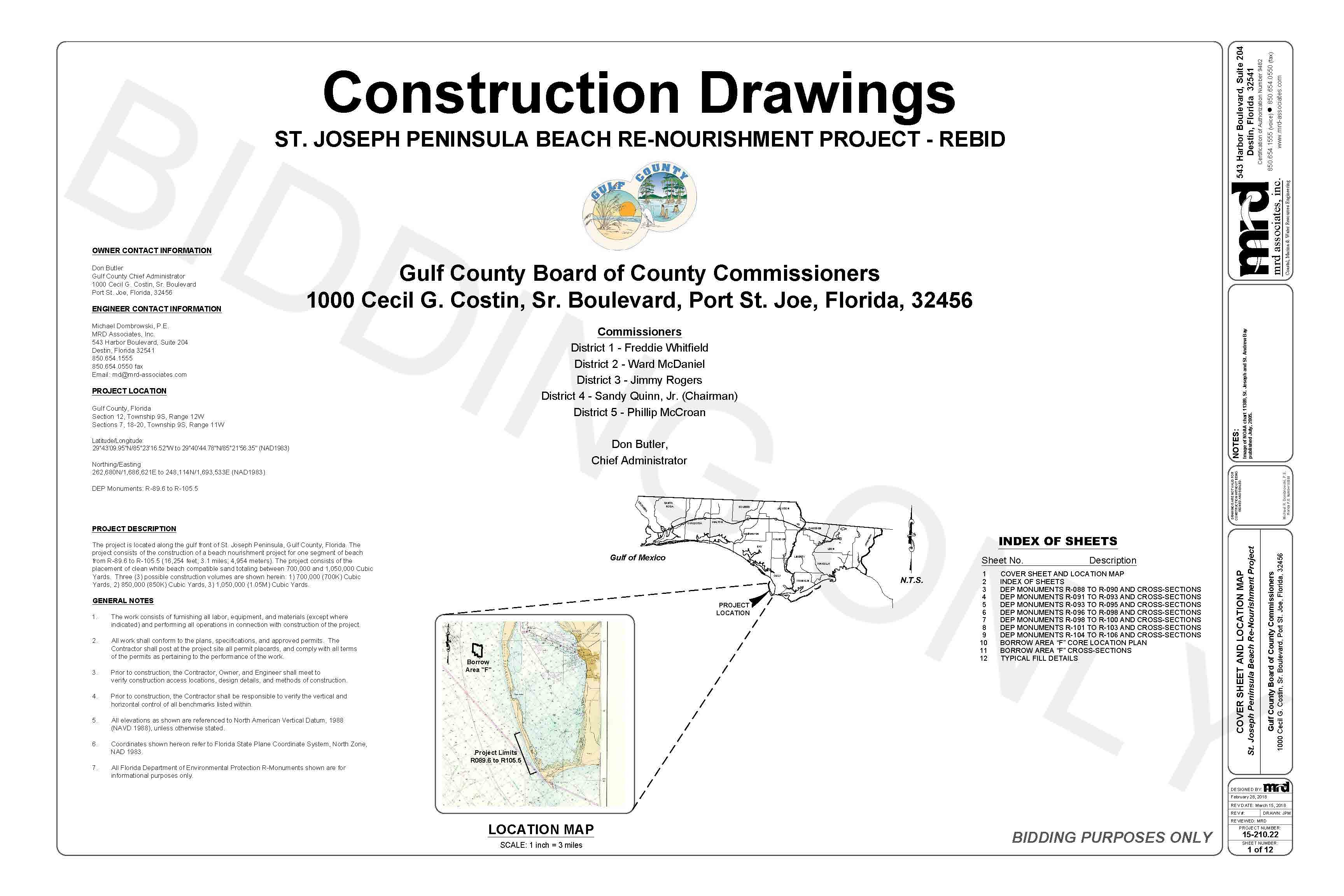 SJP Beach Renourishment Project